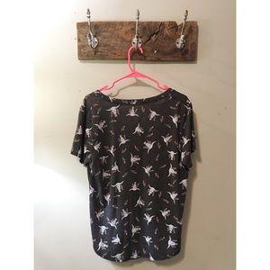 Grayson Threads for Target Tops - Southwest Boho Longhorn Skull Graphic T-Shirt